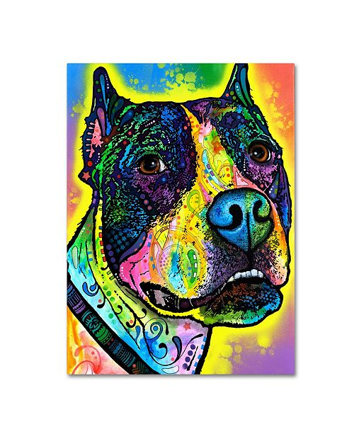 """Trademark Global Dean Russo 'Justice' Canvas Art - 19"""" x 14"""" x 2"""""""