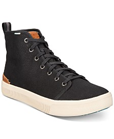 TOMS Men's TRVL LITE High-Top Canvas Sneakers