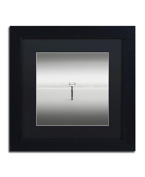 "Trademark Global Dave MacVicar 'Isolation' Matted Framed Art - 11"" x 11"" x 0.5"""