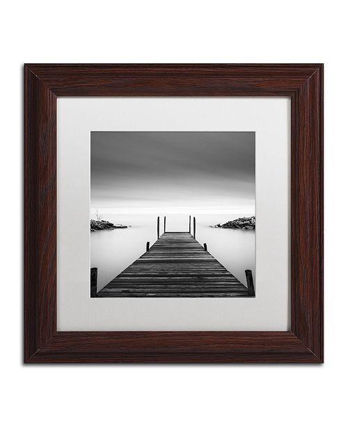 """Trademark Global Dave MacVicar 'Leuty' Matted Framed Art - 11"""" x 11"""" x 0.5"""""""