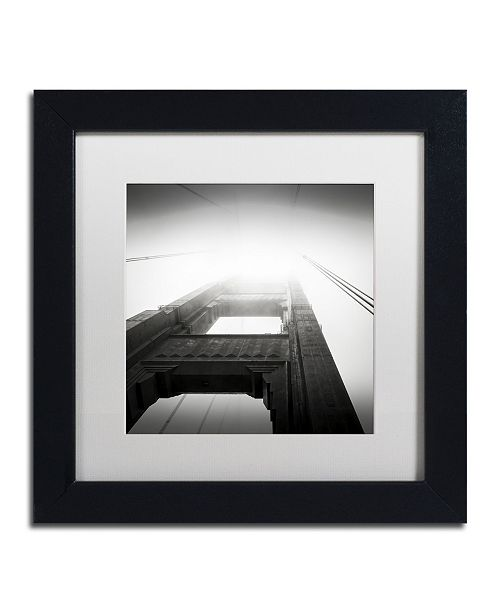 "Trademark Global Dave MacVicar 'The Crossing' Matted Framed Art - 11"" x 11"" x 0.5"""