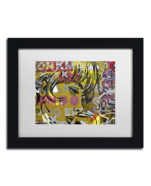 "Trademark Global Dan Monteavaro 'Every Sometimes' Matted Framed Art - 11"" x 14"" x 0.5"""