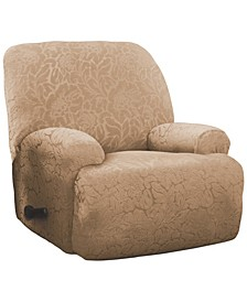 Floral Jumbo Recliner Stretch  Slipcover