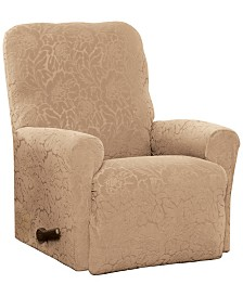 P/Kaufmann Home Floral Recliner Stretch  Slipcover