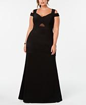b991643b40f Emerald Sundae Trendy Plus Size Cold-Shoulder A-Line Dress