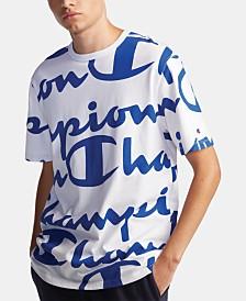 Champion Men's C-Life Big Script T-Shirt