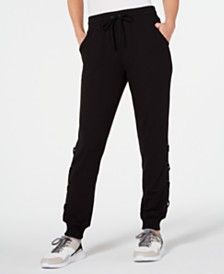 Ideology Lace-Up Joggers, Created for Macy's