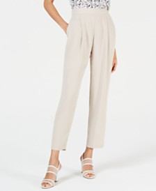 Bar III Crepe Soft Pants, Created for Macy's