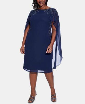 macys dresses plus size