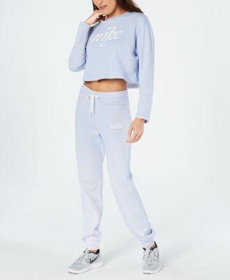 Sportswear Cotton Washed Pants