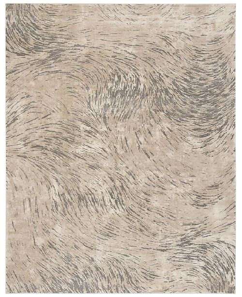 Safavieh Meadow Ivory and Gray 8' x 10' Area Rug