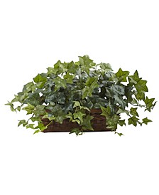 Puff Ivy w/ Ledge Basket
