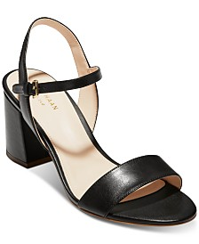Cole Haan Josie Block-Heel Sandals