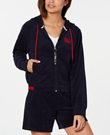 Tommy Hilfiger Embroidered Terrycloth Hoodie, Created for Macy's