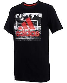 adidas Toddler Boys Field Court Graphic Cotton T-Shirt