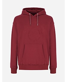 A|X Armani Exchange Men's Embroidered Hoodie
