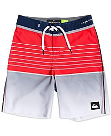Big Boys Highline Colorblocked Swim Trunks