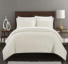 Jazmine 3 Piece Queen Comforter Set