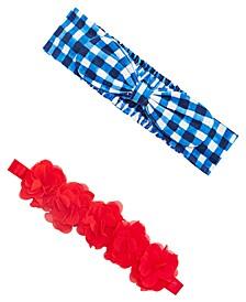 Baby Girls 2-Pack Headband Set, Created for Macy's