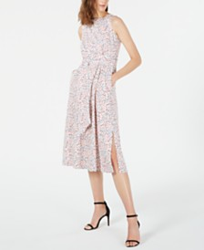 Anne Klein Floral Midi Dress