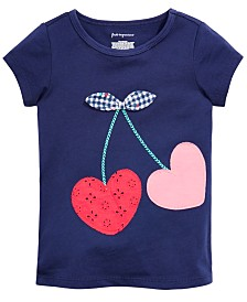 First Impressions Toddler Girls Giraffe-Print T-Shirt, Created for Macy's