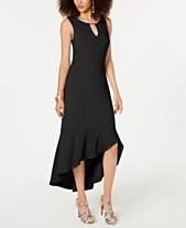 b75a742ff8 Thalia Sodi Flounce-Hem Maxi Dress