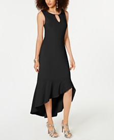 Thalia Sodi Flounce-Hem Maxi Dress, Created for Macy's