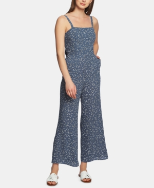 Image of 1.state Afternoon Bouquet Tie-Back Jumpsuit