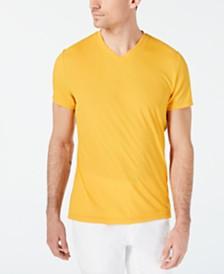 I.N.C. Men's V-Neck Textured Stripe T-Shirt, Created for Macy's