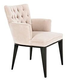 Marcene Velvet Arm Chair