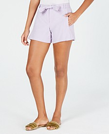 Trina Turk Belted Shorts