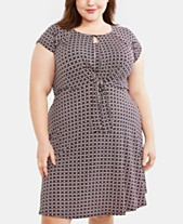 1755749aa Motherhood Maternity Plus Size Nursing Dress
