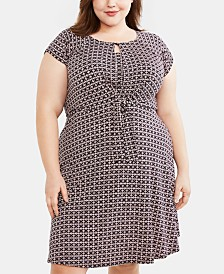 Motherhood Maternity Plus Size Nursing Dress
