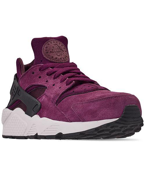 2b50dfa3f67c2 ... Nike Men s Air Huarache Run Premium Running Sneakers from Finish Line  ...