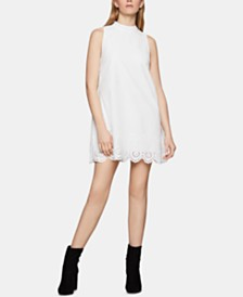 BCBGeneration Embroidered A-Line Dress