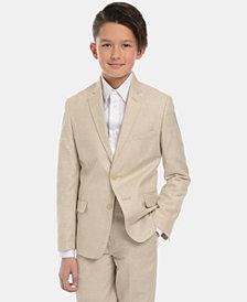 Calvin Klein Big Boys Slim-Fit Textured Suit Jacket