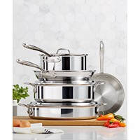 All-Clad D3 Compact 8-Piece Cookware Set