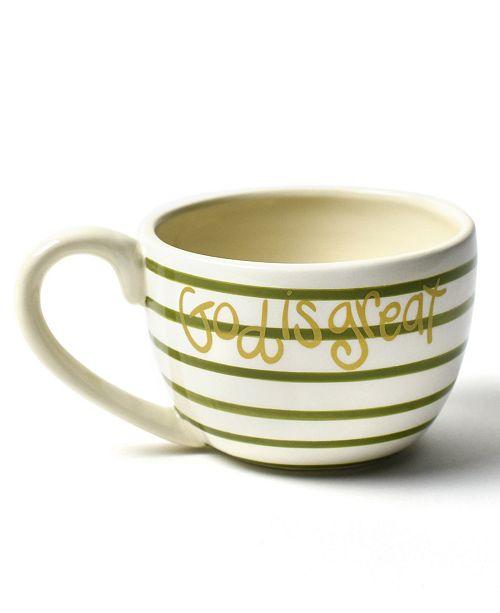 Coton Colors God Is Great Mug