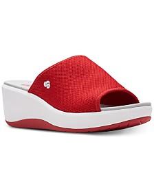 Clarks Women's Cloudsteppers Step Cali Bay Slide Sandals
