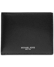 Michael Kors Men's Andy Slim Leather Billfold Wallet