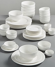 White Elements Lexington 42-Pc. Dinnerware Set, Service for 6, Created for Macy's