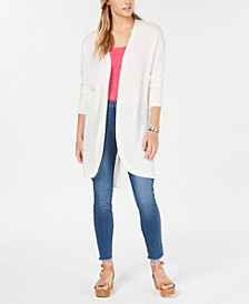 Juniors' Texture-Stitched Cardigan, Created for Macy's