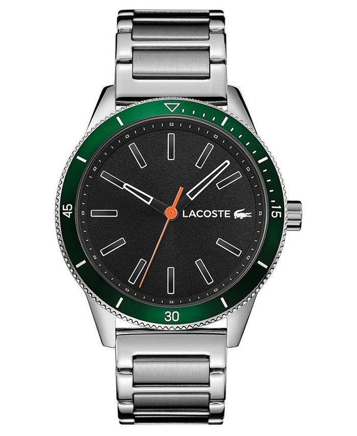 Lacoste - Men's Key West Stainless Steel Bracelet Watch 42mm