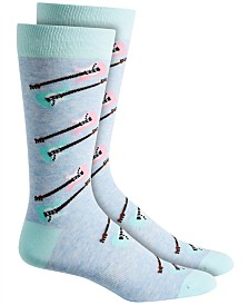 Bar III Men's Guitar Socks, Created for Macy's