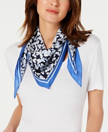 Lauren Ralph Lauren Abbey Silk Diamond Scarf