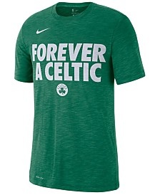 Nike Men's Boston Celtics Team Essential Local Slogan Slub T-Shirt