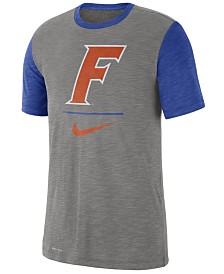Nike Men's Florida Gators Dri-FIT Slub Raglan T-Shirt