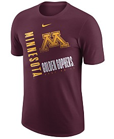 Nike Men's Minnesota Golden Gophers Dri-Fit Cotton Just Do It T-Shirt