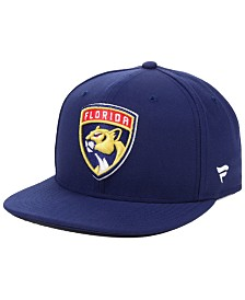 Authentic NHL Headwear Florida Panthers Basic Fan Snapback Cap