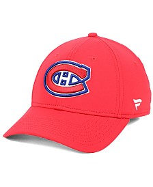 Authentic NHL Headwear Montreal Canadiens Basic Flex Stretch Fitted Cap